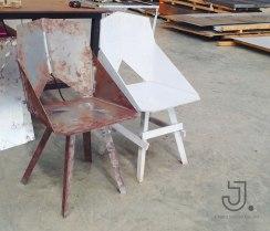 ทำเก้าอี้ตามแบบไม้