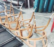 หุ้มขาเก้าอี้ไม้
