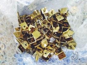 ตัดเลเซอร์+ชุบสีทอง